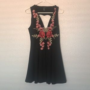 Brand new embroidered dress